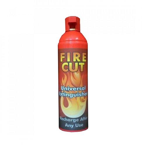 اسپری اطفا حریق نیم لیتری برند FIRE CUT