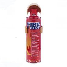 اسپری اطفا حریق نیم لیتری برند FIRE STOP حجم نیم لیتری