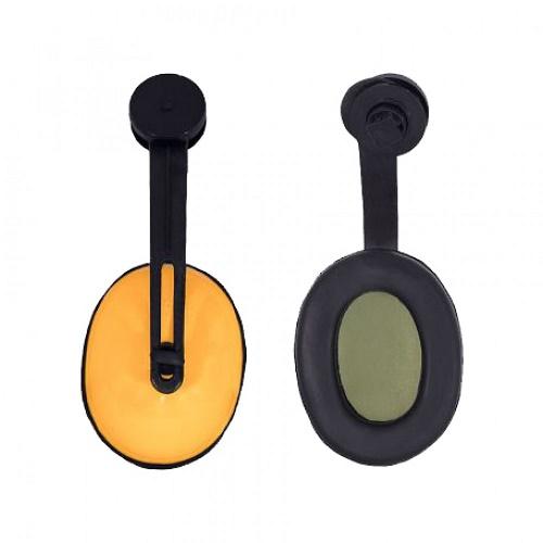 ایرماف عایق صدا روکلاهی برند Decibel ، محافظ گوش در محیط های پر سرو صدا می باشد ، بر روی کلاه نصب می شود و برای محافظت در برابر صداهای بالا استفاده می شود .