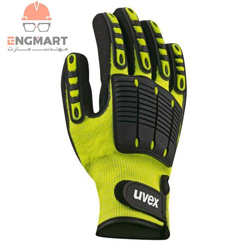 دستکش ایمنی ضد ضربه و برش Uvex مدل Impact 1