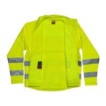 لباس کار راهداری رنگ فسفری
