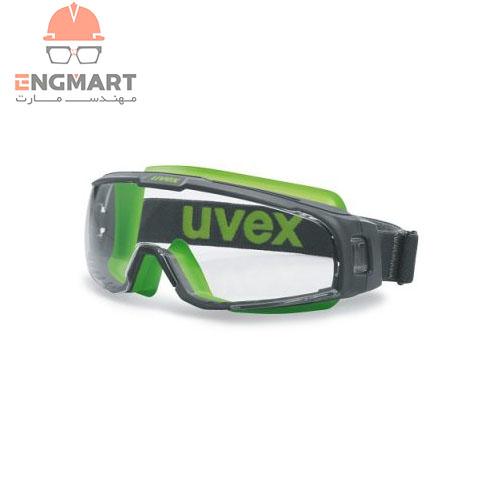 عینک ایمنی آزمایشگاهی یووکس مدل U-SONIC سری 9308245