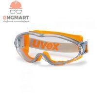 عینک ایمنی آزمایشگاهی یووکس مدل ultrasonic سری ۹۳۰۲۲۴۵