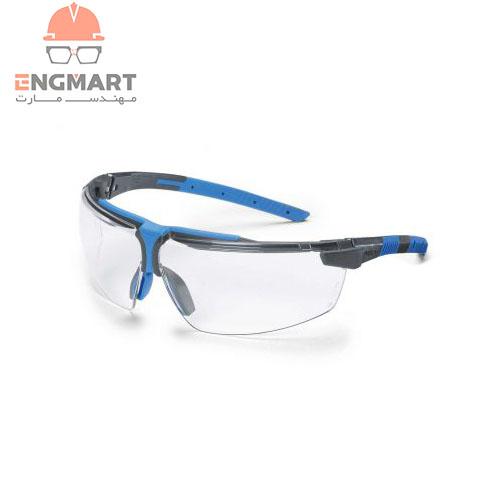 عینک ایمنی آنتی رفلکس اشعه uvex مدل I-3 AR