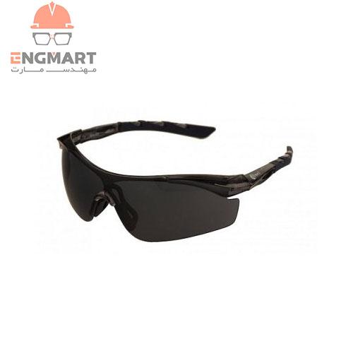 عینک ایمنی دودی ماتریکس مدل Spo-Fit