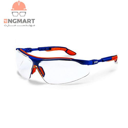 عینک ایمنی شفاف uvex مدل i-vo سری 9160065
