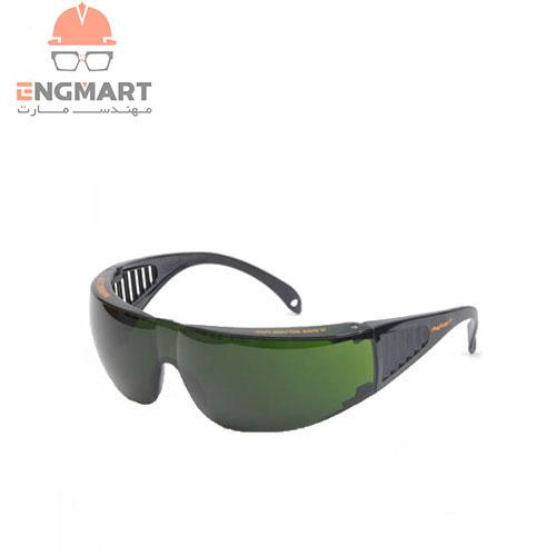 عینک ایمنی ضد اشعه canasafe مدل reflex