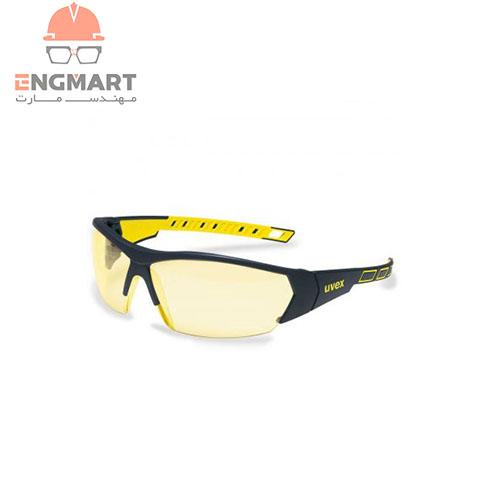 عینک ایمنی دید در شب uvex مدل I-Works سری 9194365