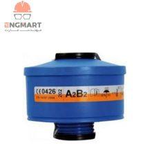 فیلتر ماسک شیمیایی اسپاسیانی ۲ حالته A2B2 Spasciani
