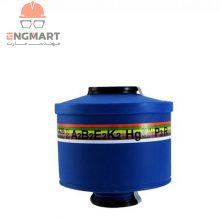 فیلتر ماسک شیمیایی ۶ حالته اسپاسیانی A2B2E2K2HgP3R Spasciani