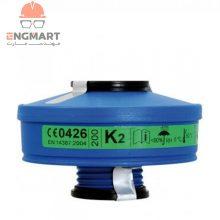 فیلتر ماسک شیمیایی K2 برند اسپاسیانی Spasciani