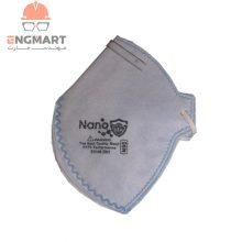 ماسک بدون سوپاپ نانو N95 با فیلتراسیون FFP2 بسته ۲۵ عددی