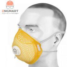 ماسک تنفسی سوپاپدار برند Canasafe سری ۸۲۱۰۵