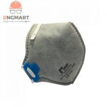 ماسک تنفسی سوپاپدار برند GSP سری FFP3 HY8235