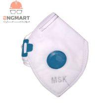 ماسک تنفسی سوپاپدار MSK بسته ۱۲ عددی