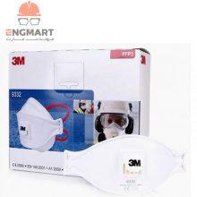 ماسک تنفسی ۳m مدل ۹۳۳۲ Aura سری FFP3