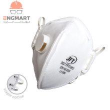 ماسک سوپاپدار خارجی JFY سری ۳۰۲۱ FFP2