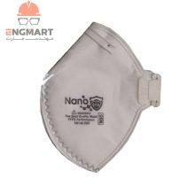 ماسک سوپاپ دار نانو N95 با فیلتراسیون FFP2 بسته ۲۵ عددی