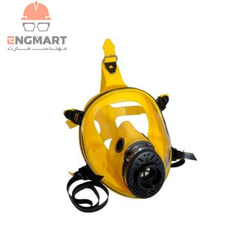 ماسک شیمیایی تمام صورت سیلیکونی اسپاسیانی TR2002 CL3