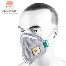 ماسک SPC ضد ویروس کرونا n95 کلاس FFP2