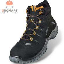 پوتین ایمنی یووکس مدل uvex motion sport S2 SRC lace-up boot