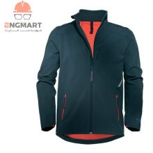 کاپشن یووکس مدل Softshell jacket 7405 midnight navy