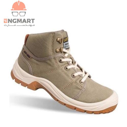 کفش ایمنی مهندسی safety jogger مدل CREAM DESERT