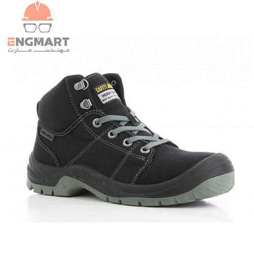 کفش ایمنی کتانی مهندسی safety jogger مدل Black DESERT