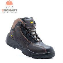 کفش کار ایمنی new 3max مدل قهوه ای مشکی
