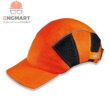 کلاه نقاب دار ایمنی یووکس مدل uvex u-cap hi-viz bump cap