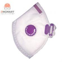 ماسک تنفسی سوپاپ دار ترمه FFP2 مدل ۲۶۰۱ ( بسته ۲۰ عددی )
