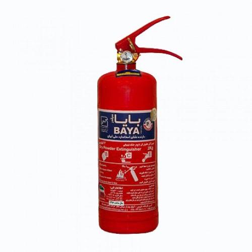 کپسول آتش نشانی بایا پودر و گاز 2 کیلوگرمی