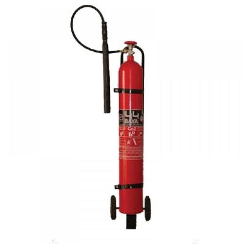کپسول آتش نشانی 12 کیلویی CO2 چرخ دار برند بایا