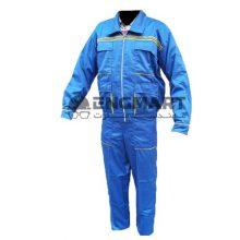 کاپشن شلوار طرح دار آبی پوشش کار