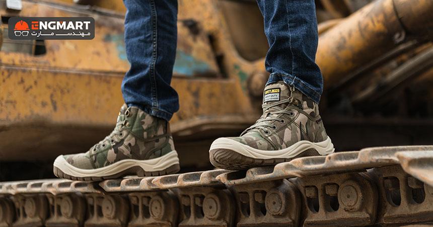 تست کفش ایمنی سیفتی جاگر safety jogger desert