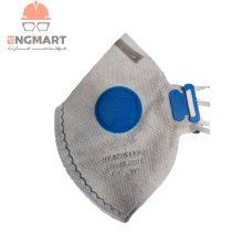 ماسک تنفسی سوپاپ دار کربن دار GREAT مدل HY8222 بسته ۱۲ عددی