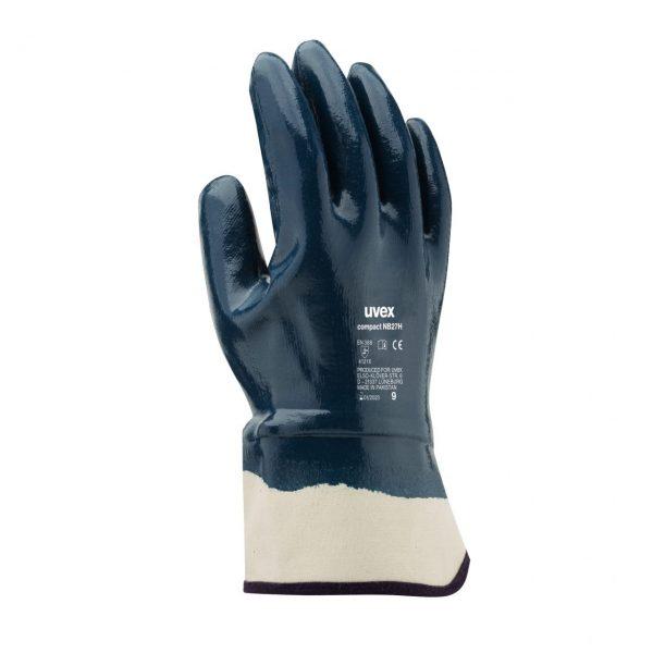 دستکش ایمنی مخصوص کارهای خشن یووکس مدل uvex compact NB27H