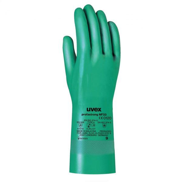 دستکش ایمنی ضد اسید یووکس uvex profastrong NF33