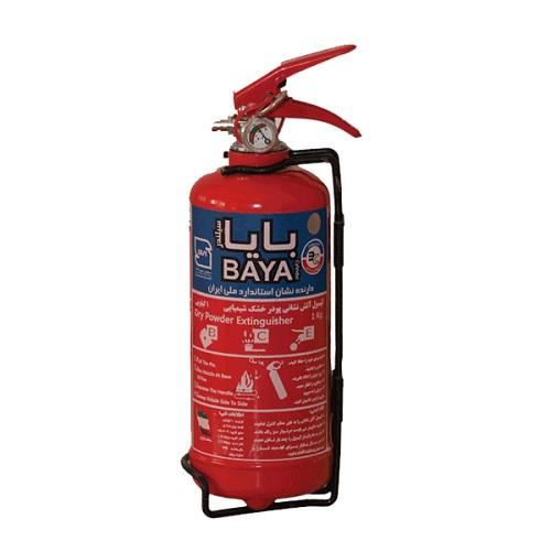 کپسول آتش نشانی بایا پودر و گاز یک کیلوگرمی