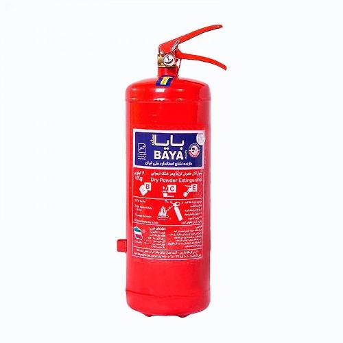 کپسول آتش نشانی بایا پودر و گاز 3 کیلوگرمی
