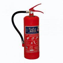 کپسول آتش نشانی بایا پودر و گاز ۴ کیلوگرمی