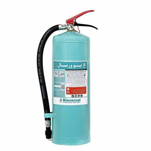مشخصات تخصصی کپسول آتش نشانی بیوورسال 6 لیتری :