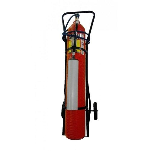کپسول اطفاء حریق 12 کیلویی CO2 برند دژ چرخ دار