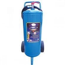 کپسول آتش نشانی آب و گاز ۲۵ لیتری خزر سیلندر چرخدار