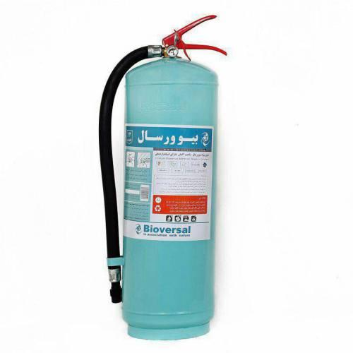 مشخصات تخصصی کپسول اطفاء حریق بیوورسال 12 لیتری