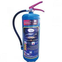 کپسول اطفاء حریق آب و گاز ۶ لیتری خزر سیلندر