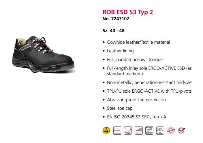 کفش ایمنی Elten مدل Rob محصول شرکت التن آلمان می باشد .