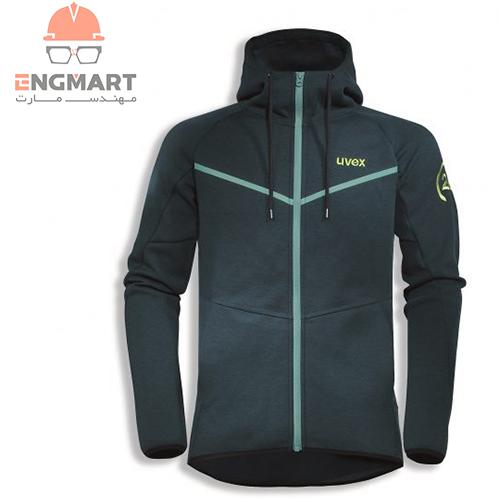 کاپشن uvex collection 26 sweat jacket یووکس
